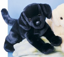 Douglas Chester Black Lab Stuffed Animal