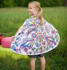 Creative Education Great Pretenders Color A Cape - Fairy