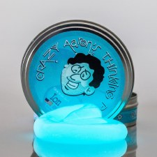 Crazy Aaron's Glow Thinking Putty - Ion