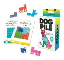 Dog Pile Game - Gamewright/Ceaco