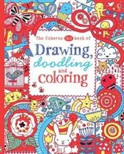 Usborne The Red Book of Drawing, Doodling, and Coloring