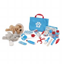 Melissa & Doug Examine & Treat Vet Pet Play Set