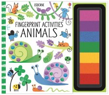 Finger Print Activities Book - Usborne Books