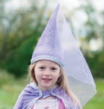 Costume Accessory - Diamond Sparkle Hat Lilac