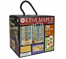 KEVA Maple 200 Piece Plank Set - MindWare