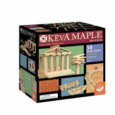 KEVA Maple 50 Piece Plank Set