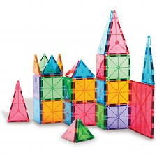 Magna-Tiles Clear 100 Piece Set