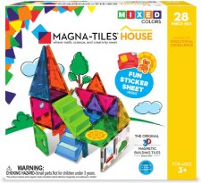 Get creative with 3D magnetic shapes! For ages 3-8 yrs, from Valtech LLC.