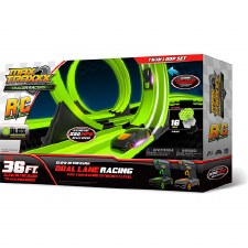 Max Traxx Tracer Racers RC Twin Loop Set - Skullduggery
