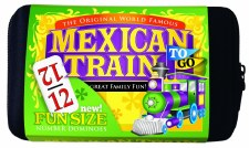 Mexican Train Dominoes to Go - Puremco