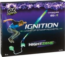 Nightzone Ignition Light-Up Rocket - Toysmith