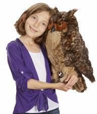 Owl Plush - Melissa & Doug