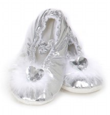 Princess Slippers Silver - Creative Edcation of Canada