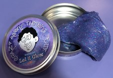 Crazy Aaron's Puttyworld Let It Glow Thinking Putty
