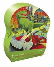 36 Piece Land of Dino Puzzle - Crocodile Creek