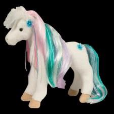 Rainbow Princess White Horse - Douglas
