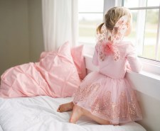 Rose Gold Skirt & Wing Set - Creative Education of Canada