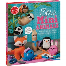 Sew Mini Animals - Klutz