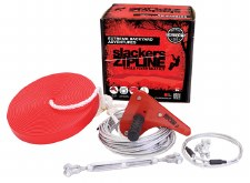 Slackers 90' Zipline Eagle Series Kit with Seat - B4 Adventure Brand 44