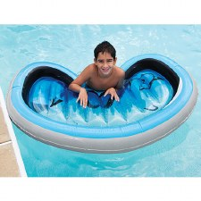 Snorkel Mask Pool Float - Three Cheers