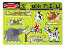 Zoo Animals Sound Puzzle - Melissa & Doug