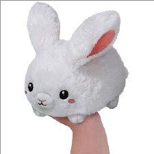 Squishable Mini White Rabbit