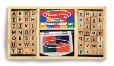 Deluxe Alphabet Stamp Set - Melissa & Doug