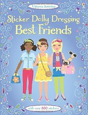 Sticker Dolly Best Friends - Usborne Books