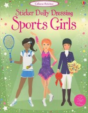 Sticker Dolly Sports - Usborne Books