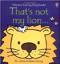 That's Not My Lion... Touchy-Feely Book - Usborne