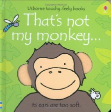 That's Not My Monkey... Touchy Feely Book - Usborne