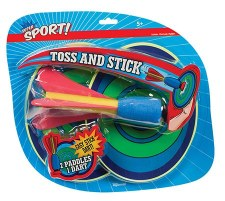 Toss and Stick Toy - Toysmith