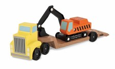 Trailer and Excavator - Melissa & Doug