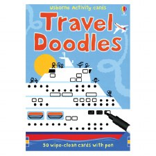 Travel Doodles Activity Book - Usborne
