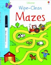 Wipe Clean Mazes - Usborne Books