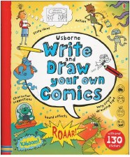 Write & Draw Your Own Comics - Usborne Books