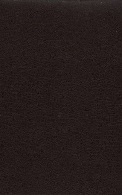 NASB Giant Print Reference Bible - Burgundy Bonded Leather