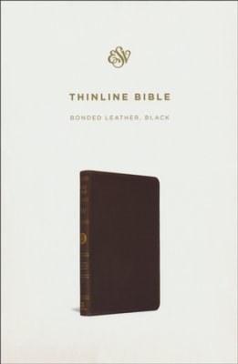 ESV Thinline Bible - Black Bonded Leather
