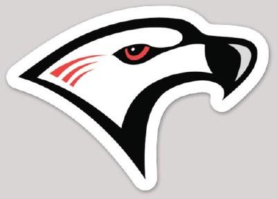 Falcon Head Sticker