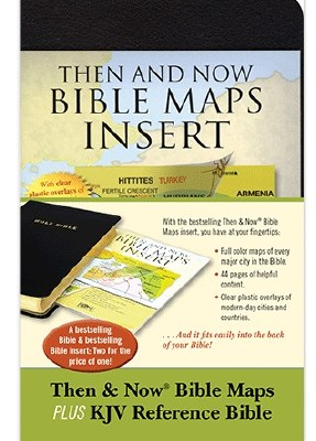 KJV, REF BIBLE AND MAP INSERT