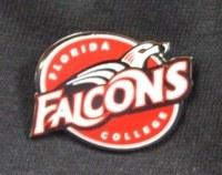 Florida College Falcons Lapel Pin