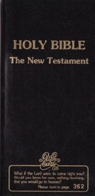 NKJV New Testament Checkbook Bible