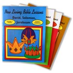 New Living Bible Series Primary 2-1 Samuel, Saul, and David Visual Aid