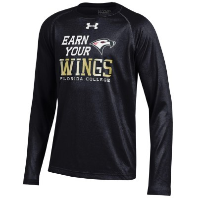 Under Armour Youth Earn Your Wings Long Sleeve Athletic Shirt