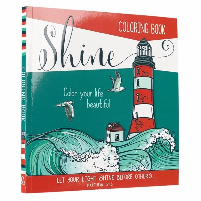 Adult Coloring Book - Shine: Color Your life Beautiful