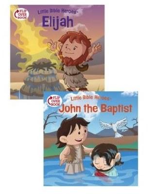 Elijah/John the Baptist Flip Over Book