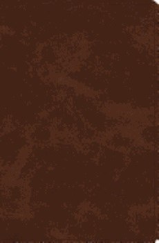 ESV Verse-By-Verse Reference Bible- Brown