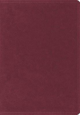 ESV Super Giant Print Bible - Burgundy TruTone