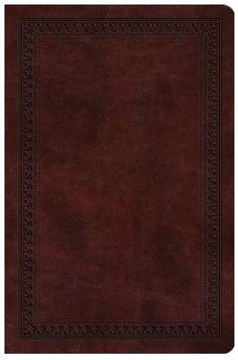 ESV Value Compact Bible - Mahogany TruTone