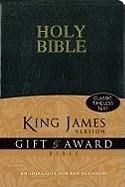 KJV Gift & Award Bible - Black